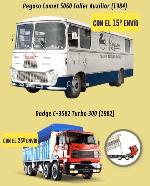 coleccion camiones y autobuses españoles salvat