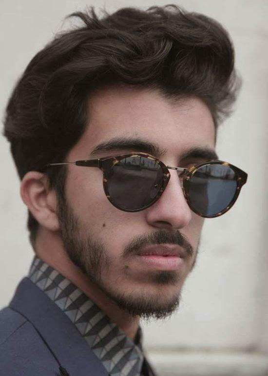 coupe cheveux long nez homme