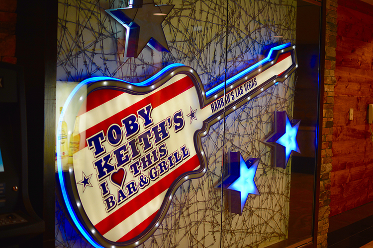 Toby Kieth's bar @ Harrahs, Las Vegas, NV | My Darling Days
