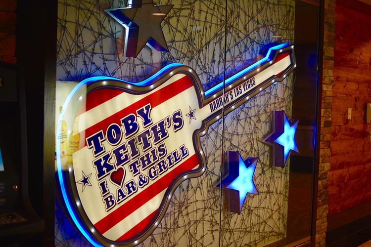 Toby Kieth's bar @ Harrahs, Las Vegas, NV | My Darling Days