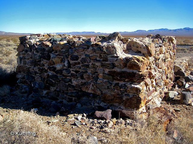 This square rock structure was probably a foundation for one of the mills or other heavy equipment.