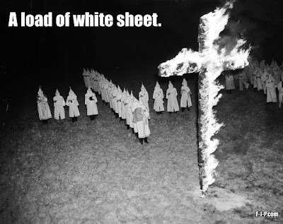 A load of white sheet