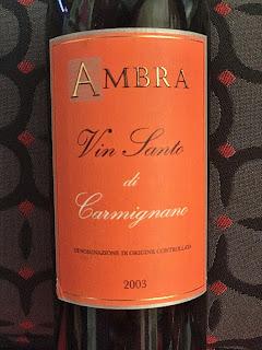 2003 Ambra Vin Santo di Carmignano