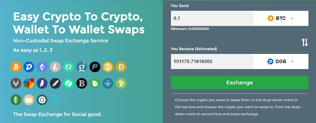 instant cryptocurrency exchange