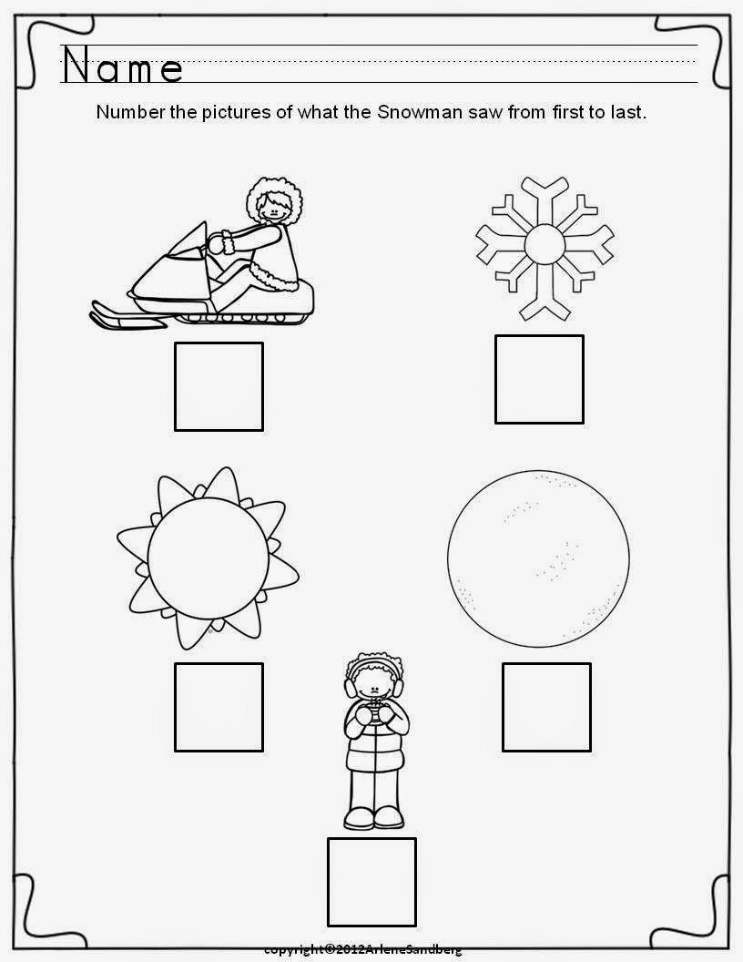 Common Core Classrooms: Fun Free Snowman Poem and