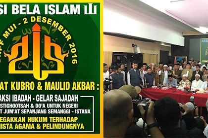 GNPF MUI: Aksi Bela Islam Jiilid III Akan Digelar Pada 2 Desember 2016