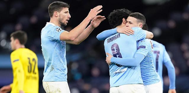 Manchester City vs Borussia Dortmund Highlights