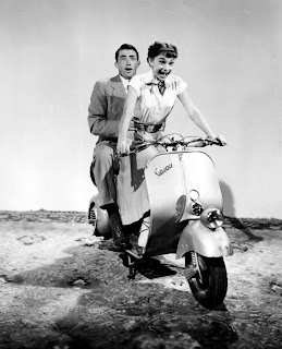 Audrey Hepburn Gregory Peck Roman Holiday