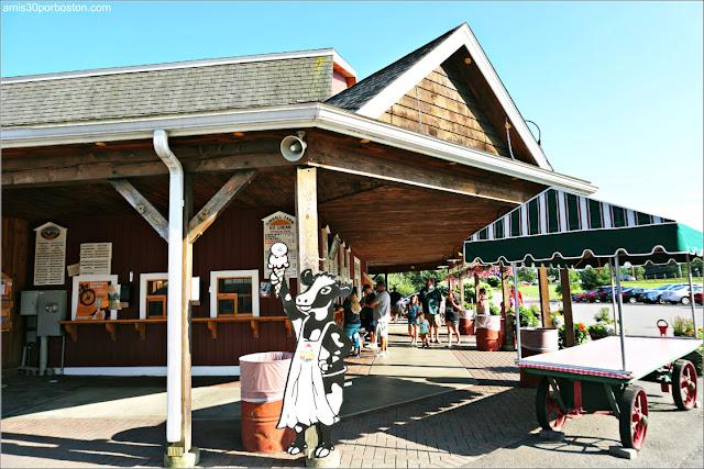 Granjas de Helados de Massachusetts: Kimball Farm, Lancaster