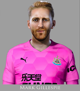 PES 2021 Faces Mark Gillespie by Rachmad ABs