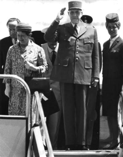 Charles de Gaulle Caracas 1964