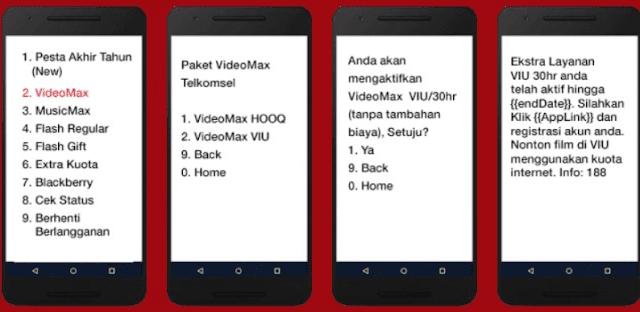 Cara aktivasi kuota VideoMax telkomsel