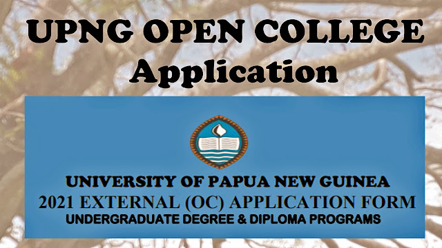 UPNG Open college application