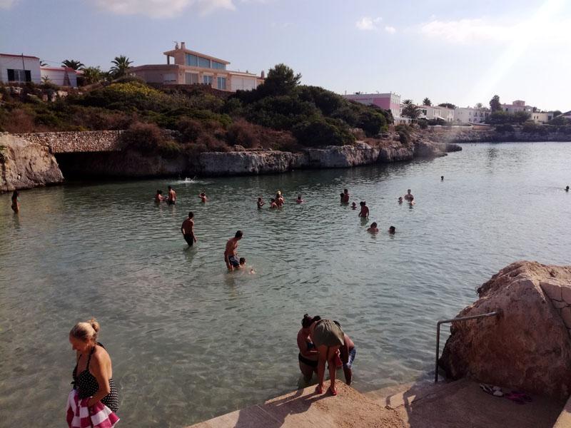 Una caletta a Ciutadella - Minorca