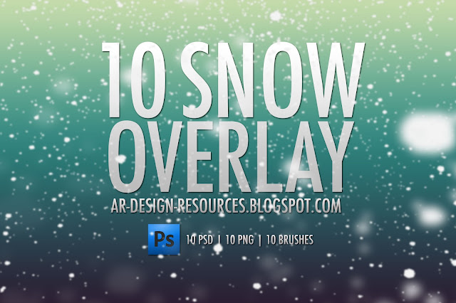10 Free Snow Overlays