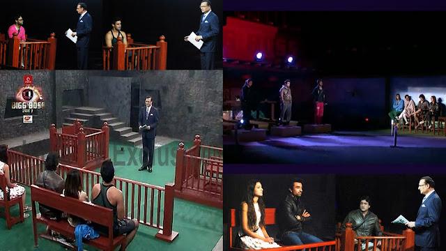 Bigg Boss contestants and Rajat in Adalat