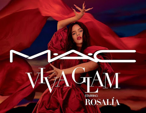O batom VIVA GLAM  M.A.C  da Rosalía
