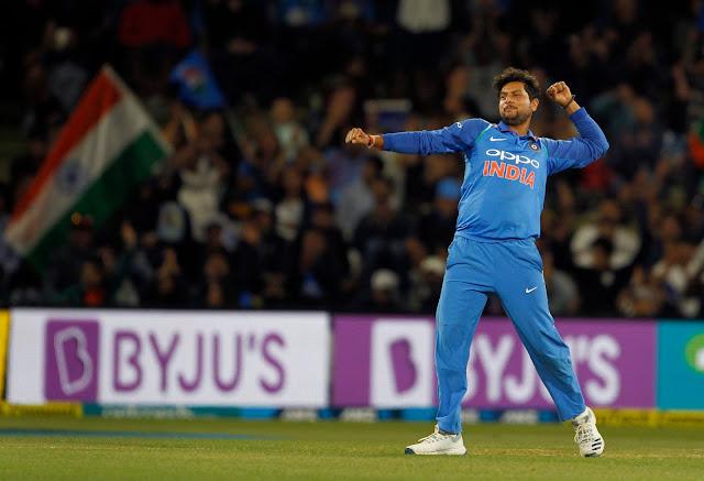 कुलदीप यादव, भारतीय क्रिकेट टीम के बाएं हाथ के स्पिन गेंदबाज
