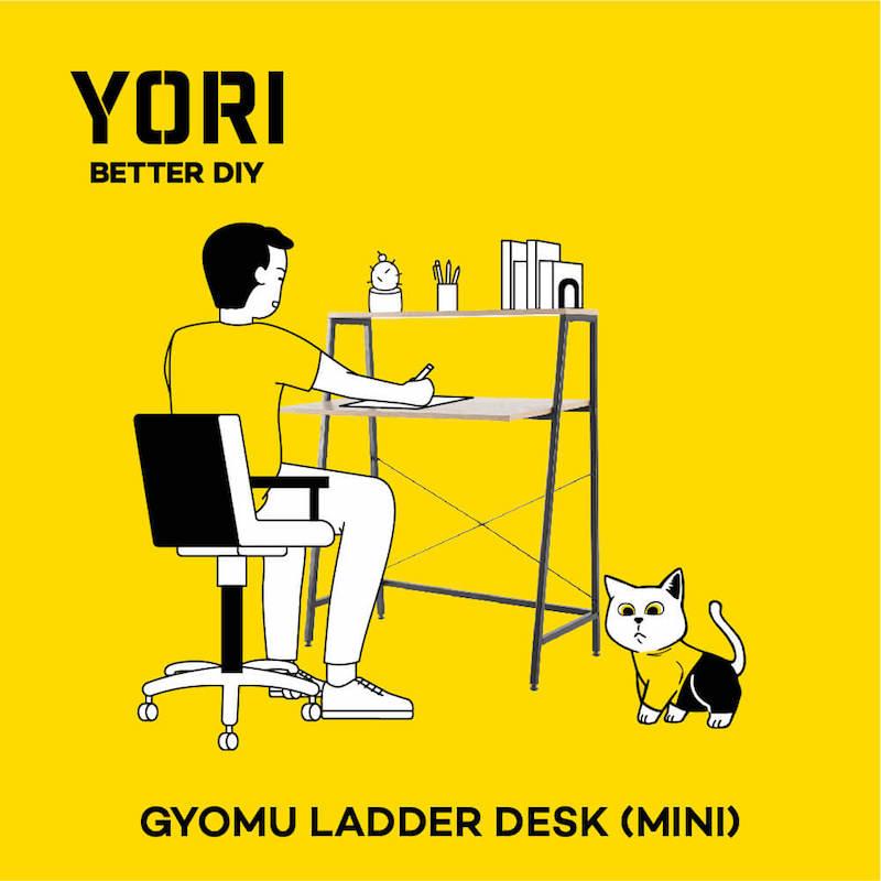 The Gyomu Ladder Desk (Mini)
