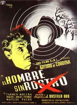El hombre sin rostro 1950 / Poster