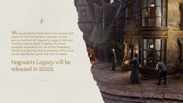 Hogwarts Legacy pushed back to 2022: new Harry Potter universe video game will have to wait