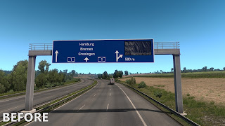 ets 2 realistic signs screenshots 1a