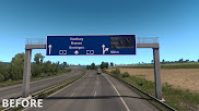 ets 2 realistic signs screenshots 5