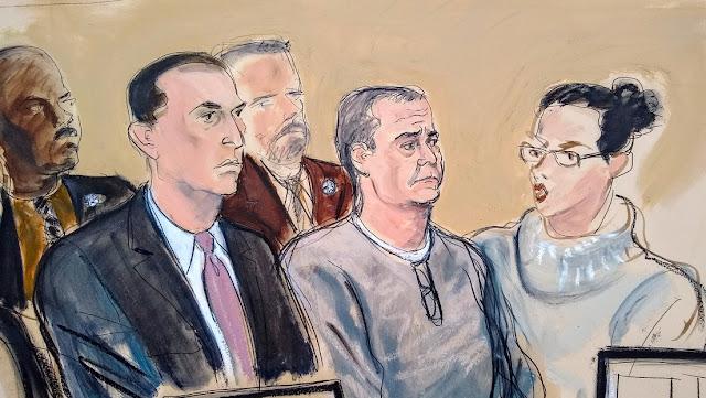 Justicia de EE.UU. acusa a excomandante de la Policía que trabajó con García Luna de colaborar con cárteles