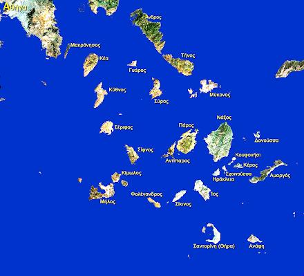Κυκλάδες-Το διασημότερο νησιωτικό σύμπλεγμα του Αιγαίου