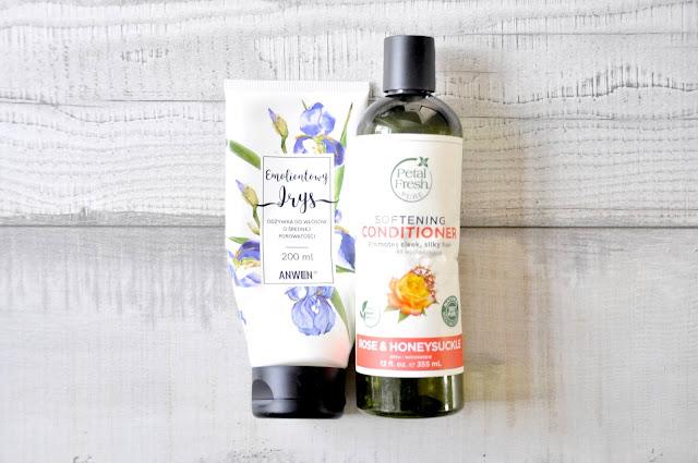 odżywka do włosów petal fresh softening conditioner, odżywka do włosów anwen emolientowy irys