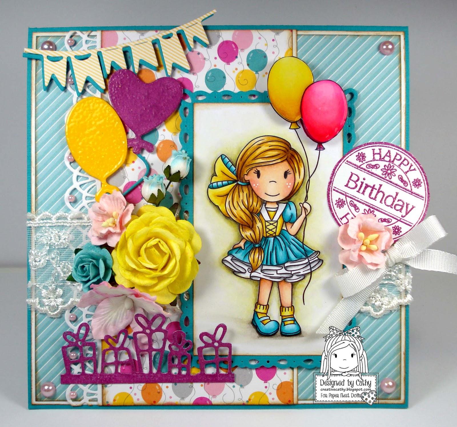 Cathy's Creative Place: Happy Birthday, Allie