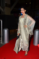 Samantha Ruth Prabhu cute in Lace Border Anarkali Dress with Koti at 64th Jio Filmfare Awards South ~  Exclusive 016.JPG