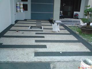 Batu sikat | ampyangan | carport | tukang taman banjarmasin 22