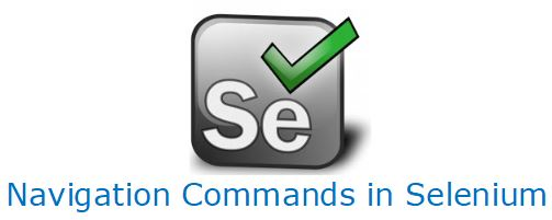 SELENIUM Navigation Commands Forward, Backward, Refresh