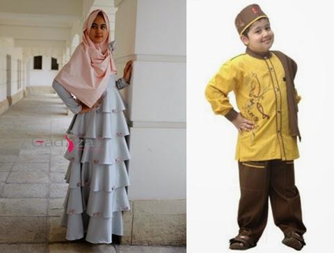 baju muslim anak modern