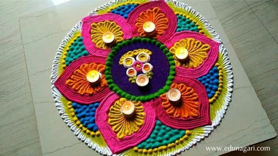 Diwali rangoli new