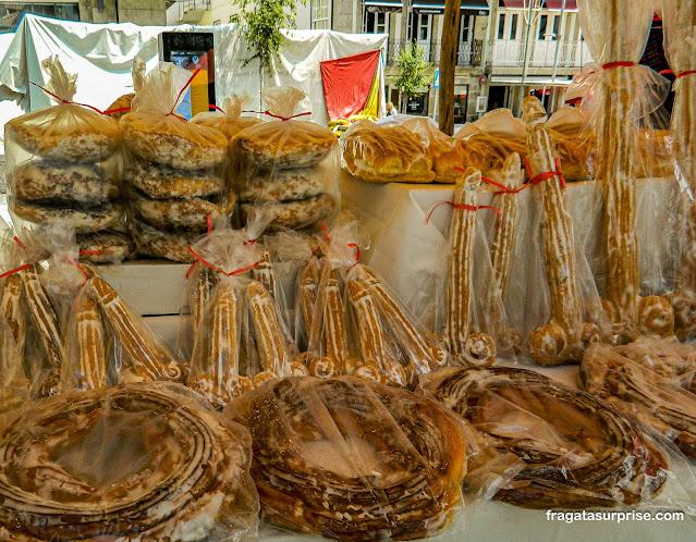 Picãozinho de São Gonçalo, pão típico da festa de São Gonçalo do Amarante, Portugal