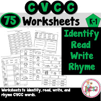 CVCC Worksheets