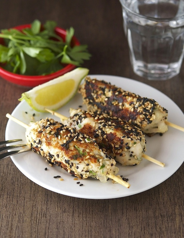 Sesame Chicken Kebabs (Low Carb and Gluten-Free)