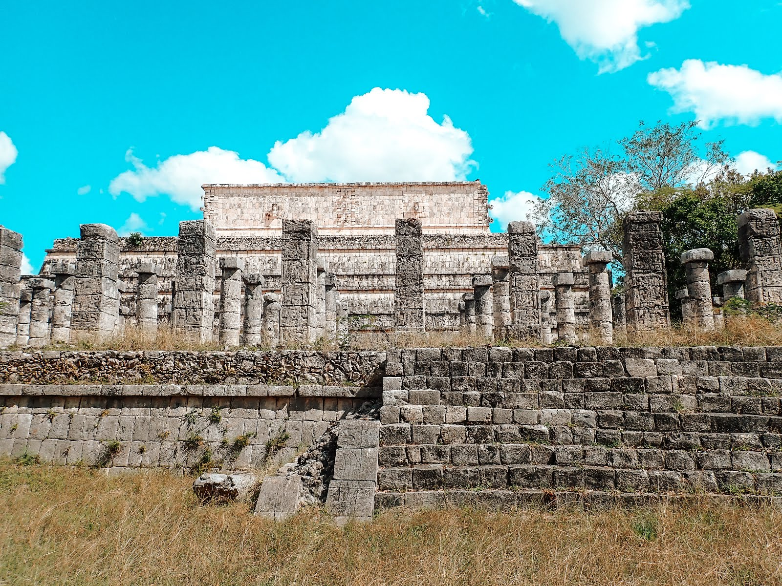 le temple aux mille colonnes