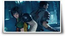 Yuffie et Vincent Valentine dans Final Fantasy VII Remake Intergrade