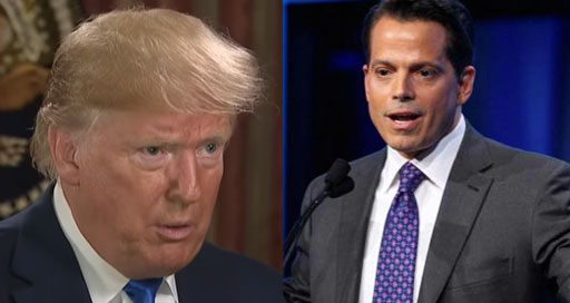 Donald Trump, who briefly hired Anthony Scaramucci as his White House communications director for 11 days in 2017, has turned on his former friend and employee after Scaramucci made less-than-praise worthy comments during news show appearances.