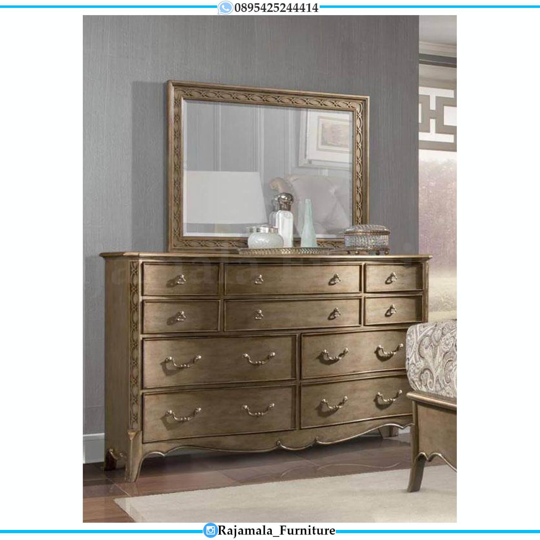 Set Tempat Tidur Mewah Terbaru Classic Luxury Design Imperial Room RM-0456
