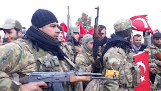 Turki Serang Tentara Syiah Nushairiyah di Raqqa
