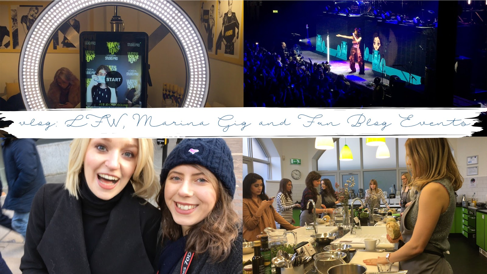 LFW, MARINA & THE DIAMONDS + BLOG EVENTS