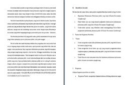 Contoh Makalah Laporan Riset Dan Praktek Perihal Analisis Pelaksanaan Pelayanan Publik