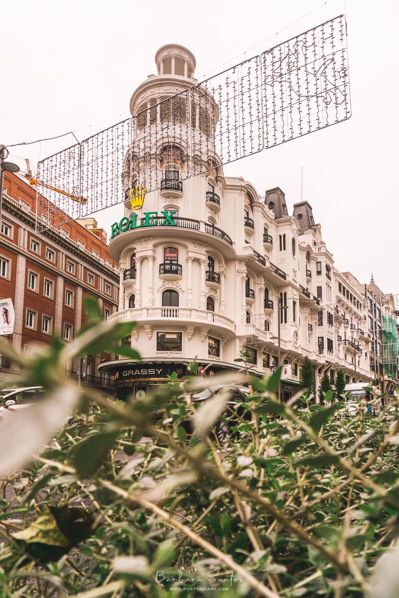 Metropolis Building neighbor - Madrid, Spain