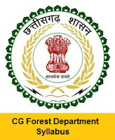 CG Forest Department Forest Guard Syllabus