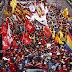 Venezuela marcha en rechazo a bloqueo y amenazas militares de EEUU