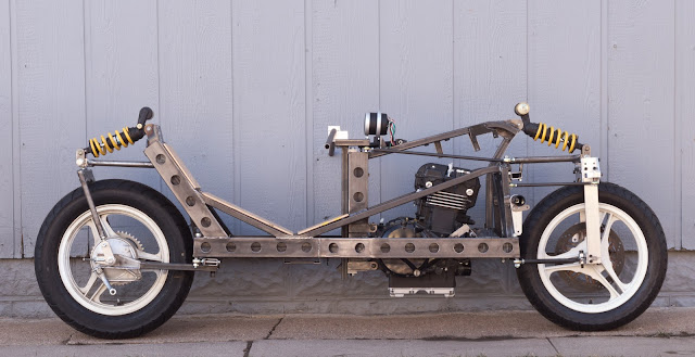 Robert Horn RoHorn Racer 2 Wheel Steering Motorcycle